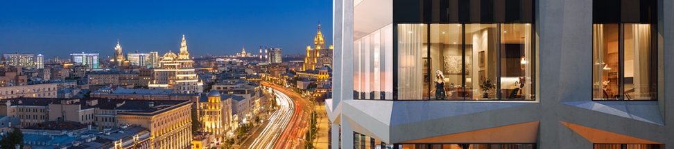 Дом Chkalov — феноменальные виды на центр мегаполиса!